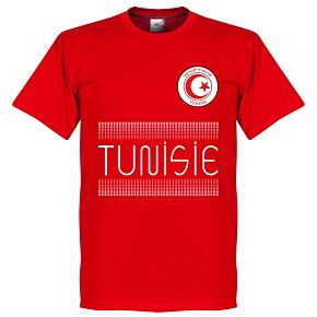 Tunisia Team Tee - Red