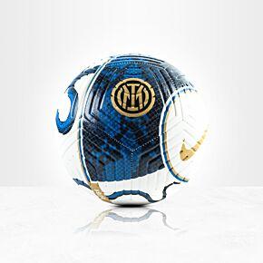 21-22 Inter Milan Strike Football - White (Size 5)