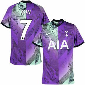 21-22 Tottenham 3rd Shirt + Son 7 (Premier League)
