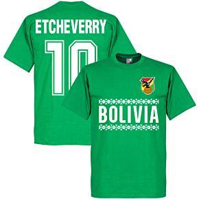 Bolivia Team Etcheverry Tee - Greeb