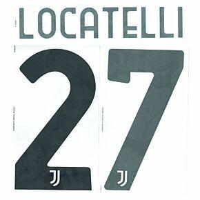 Locatelli 27 (Official Printing) - 20-22 Juventus Home