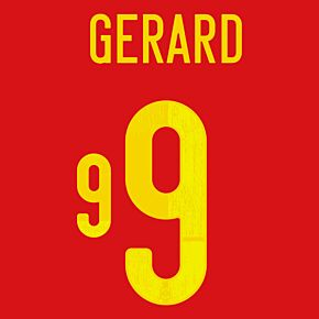Gerard 9 (Official Printing) - 20-21 Spain Home