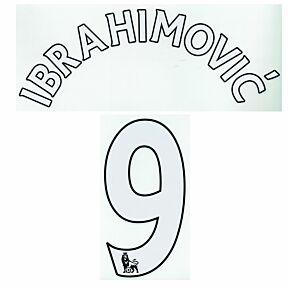 Ibrahimovic 9 - Manchester United Home EPL