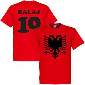 Albania Eagle Balaj 19 Tee - Red