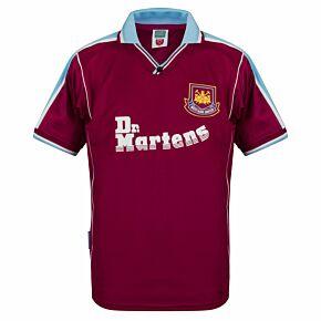 2000 West Ham Utd Home Retro Shirt