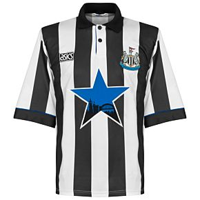 Asics Newcastle 1993-1995 Home Jersey - USED Condition (Great) - Size XL