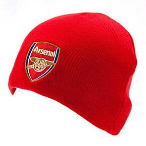 Arsenal Knitted Hat - Red