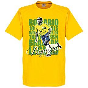Romario Legend Tee -Yellow