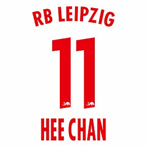 Hee-chan Hwang 11 (Official Printing) - 20-21 RB Leipzig Home