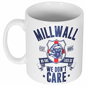 Millwall We Don't Care Mug