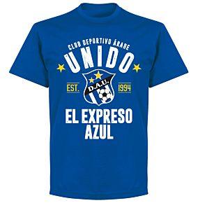Arabe Unido Established T-Shirt - Royal