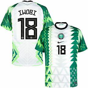 20-21 Nigeria Home Shirt + Iwobi 18 (Official Printing)