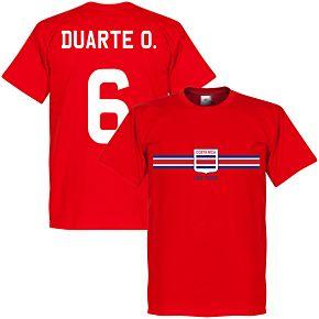 Costa Rica Duarte O. Tee - Red