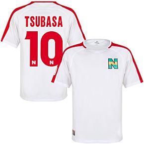 Nankatsu Shirt 2 - White/Red + Tsubasa 10