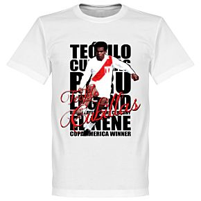 Teófilo Cubillas Legend Tee - White