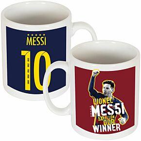 Messi Ballon d'Or Mug