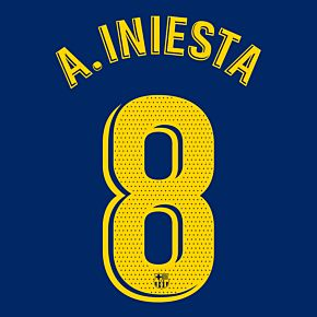 A. Iniesta 8 (Official Pro Size)