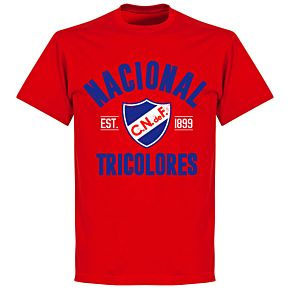 Nacional Established T-shirt - Red