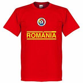 Romania Team Tee - Red