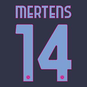 Mertens 14 (Official Printing) - 20-21 Napoli 3rd