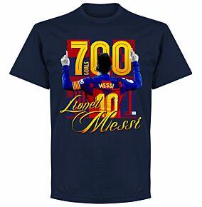 Messi 700 Goals KIDS T-shirt - Navy