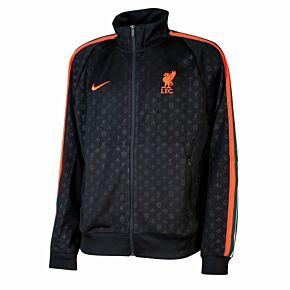 21-22 Liverpool N98 Knit Track Jacket - Black