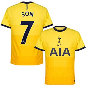 20-21 Tottenham Vapor Match 3rd Shirt + Son 7