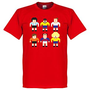 Legend Pixel Players Tee - Red