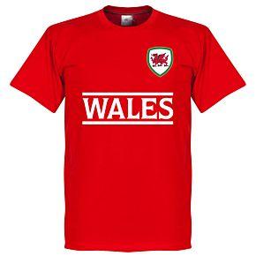 Wales Team Tee - Red