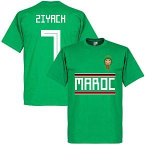 Morocco Ziyach 7 Team Tee - Green
