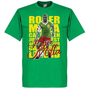 Roger Milla Legend Tee - Green