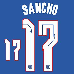 Sancho 17 (Official Printing) - 20-21 England Away