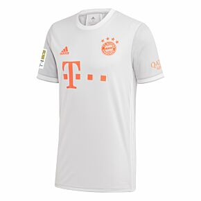 20-21 Bayern Munich Away Shirt + Bundesliga Champions Patch