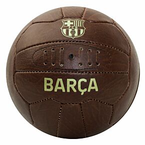 Barcelona Faux Leather Football (Size 5)