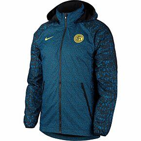 20-21 Inter Milan AWF Lite Jacket - Blue/Black