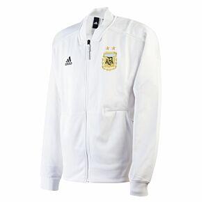 18-19 Argentina ZNE Knitted Jacket - White