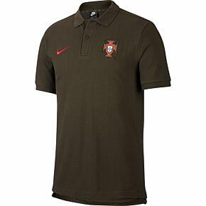 20-21 Portugal Crew Neck Polo - Green
