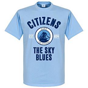 Man City Established Tee - Sky