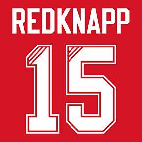 Redknapp 15 (Retro Flock Printing) 95-96 Liverpool Home