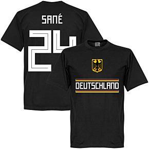 Germany Sane 24 Team Tee - Black