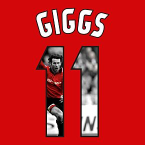 Giggs 11 (Gallery Style) Man Utd Home