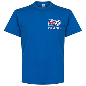 Iceland Cresta Tee - Blue