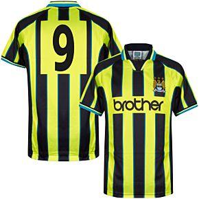 1999 Man City Retro Wembley Shirt + No.9
