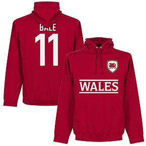 Wales Bale 11 Team Hoodie - Red
