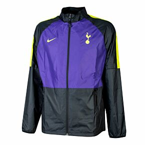 21-22 Tottenham Rpl Academy AWF Jacket - Black/Purple
