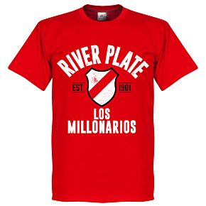 River Plate Established Tee - Red
