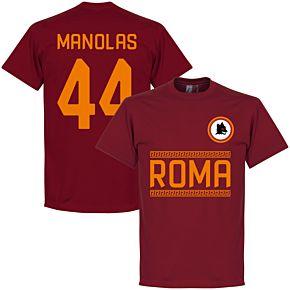 AS Roma Monolas 44 Team Tee - Red