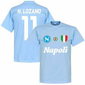 Napoli H. Lozano 11 Team Tee - Sky