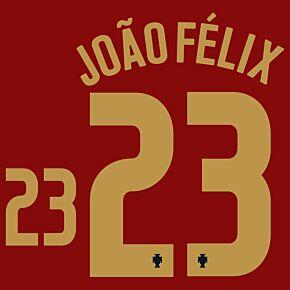 João Félix 23 (Official Printing) - 20-21 Portugal Home