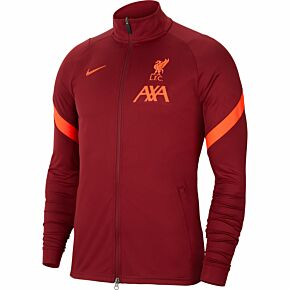 21-22 Liverpool FZ Track Jacket - Red